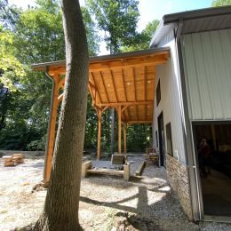 Large Front Overhang for Additional Covered Outdoor Living Space