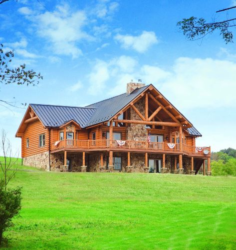 Welcome to fairview log homes ohio 39 s premier custom log for Fairview custom homes