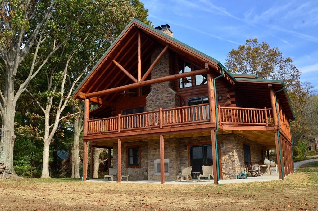 Westbrock lake home for Fairview custom homes