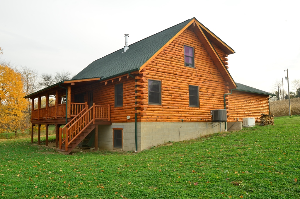 Wooster cabin for Fairview custom homes